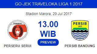 Perseru Serui vs Persib: Jose Pastikan Maung Bandung Siap Tempur