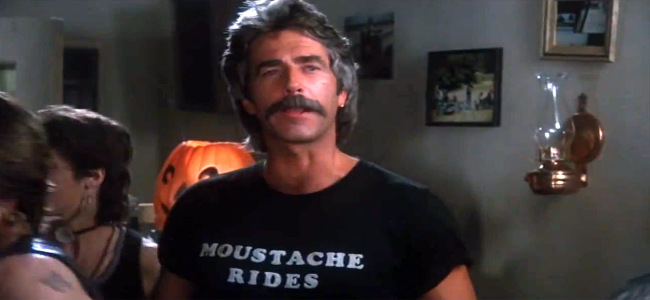 Sam Elliott Moustache Rides T-Shirt