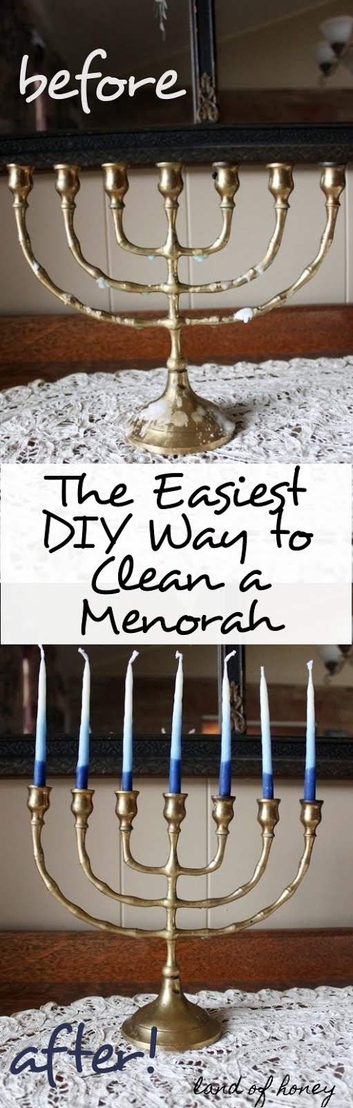 How To Clean a Menorah