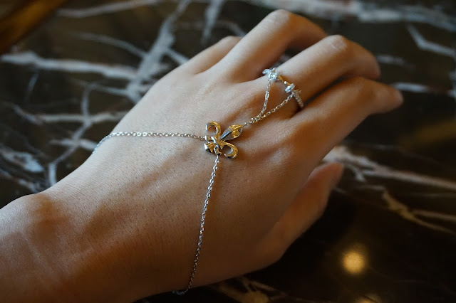 star harvest jewelry jewellry manufacturer china Anchor Slave Finger Bracelet