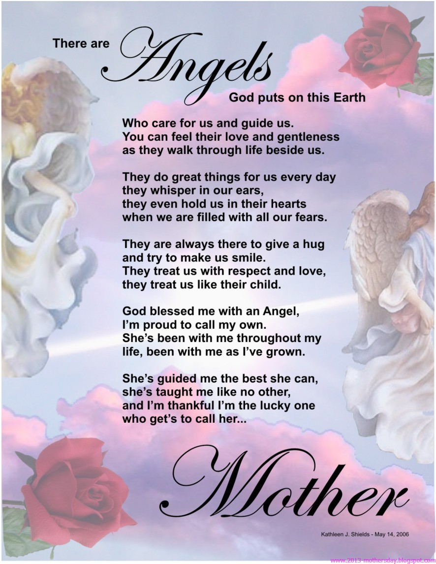 Mother S Day Nail Art Pancreatic Cancer Awareness: Wallpaper Free Download: Happy Mother's Day Poems