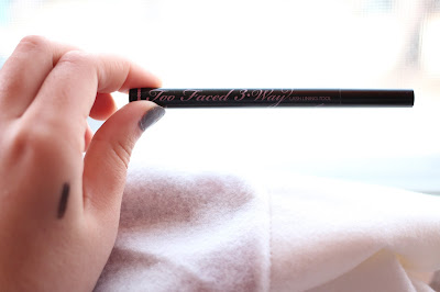 Too Faced 3-Way Lash Lining Tool Swatch
