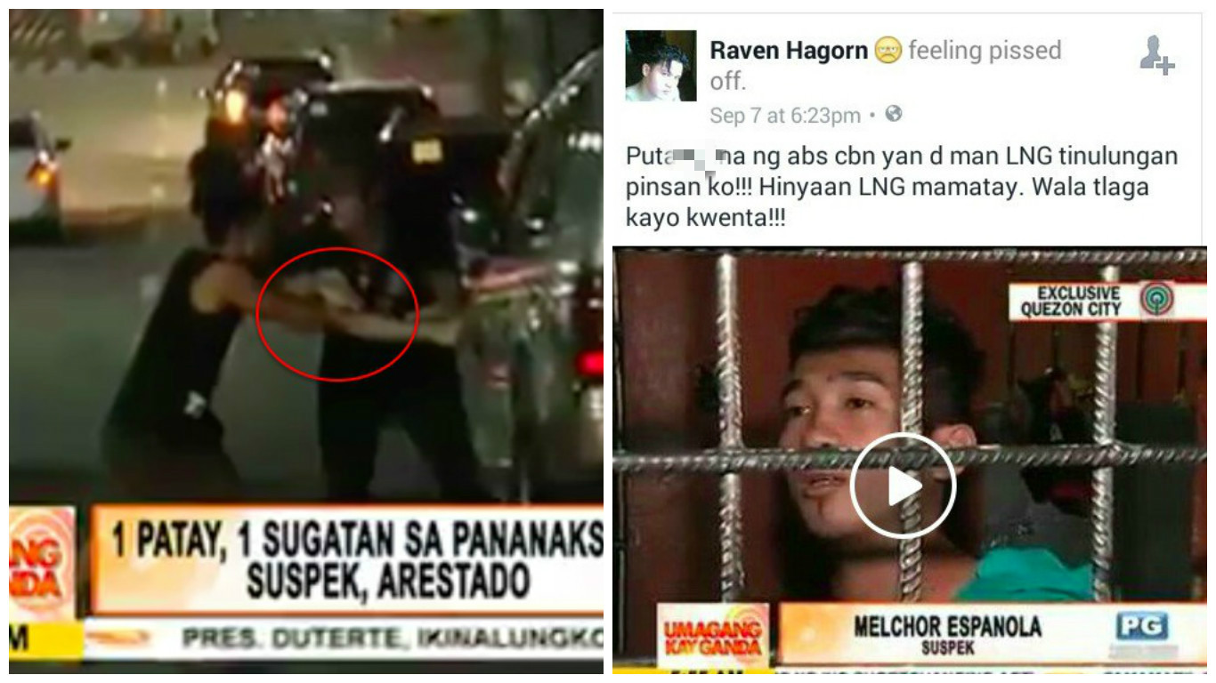 "ABS-CBN News slammed for ""just filming"" deadly street fight"