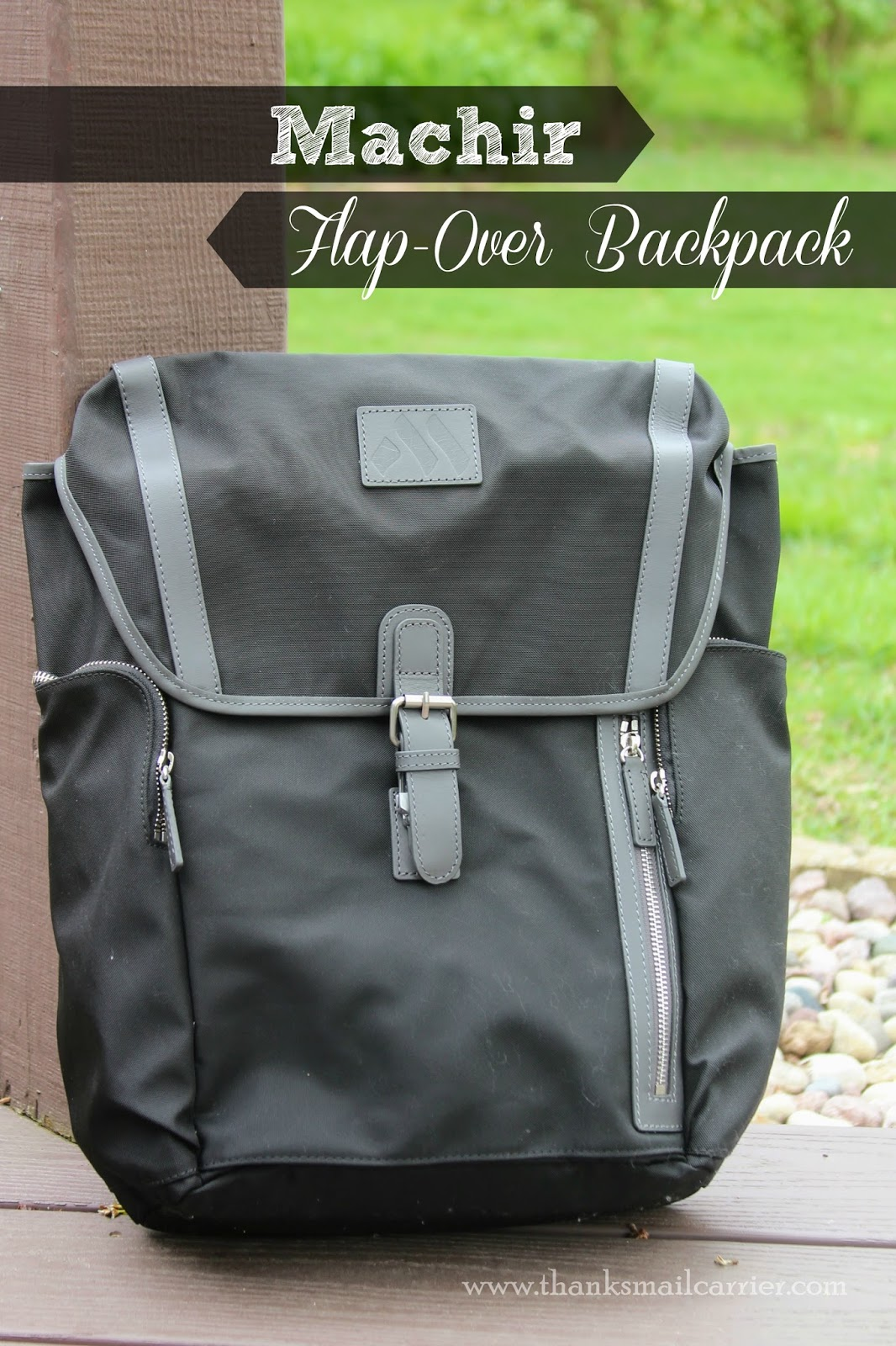 Machir Flap-Over Backpack