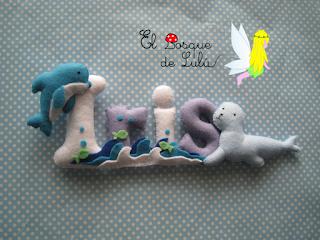 nombre-fieltro-Iris-elbosquedelulu-hechoamanoparati-felt-name-banner-feltro-detalle-nacimiento-regalo-personalizado-animales-decoración-infantil