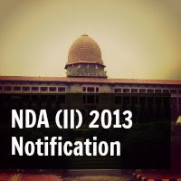 NDA (II) 2013 Notification