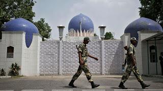 پاکستانی ہائی کمیشن کے عہدیدار کو اڑتالیس گھنٹوں میں ملک چھوڑدینے کی ہدایت