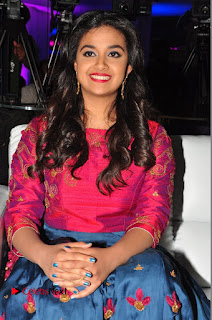 Actress Keerthi Suresh Stills at Remo Success Meet  0120.JPG