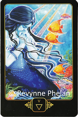 Dreams of Gaia Tarot Five of Water