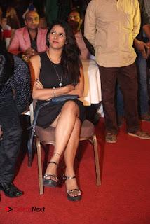 Telugu Tollywood Actress Shravya Reddy Stills in Black Short Dress at Shiva to Vangaveeti RGV Journey Event  0007.jpg