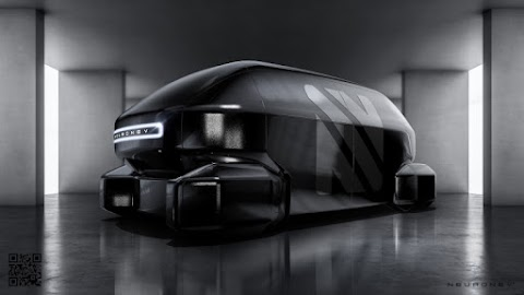 Neuron EV Concept looks like a SWAT Team Van from the Future