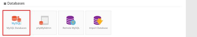 hostinger control panel mysql databases - Cara Konfigurasi Database Mysql Ke Hostinger