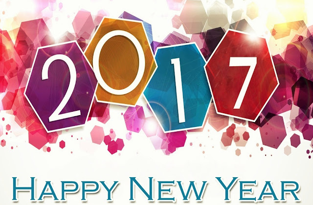 happy new year 2017 PNG