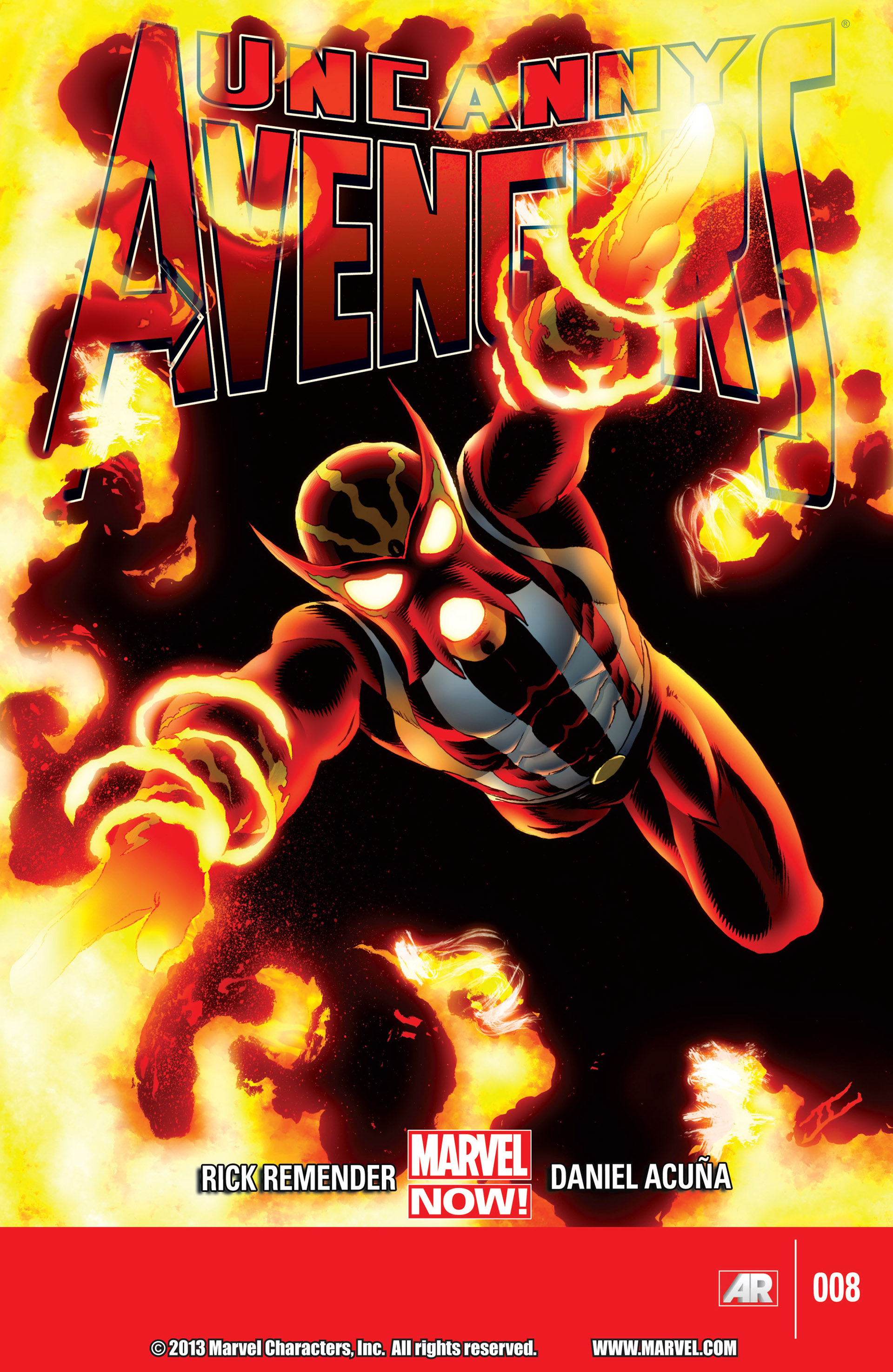 Read online Uncanny Avengers (2012) comic -  Issue #8 - 1