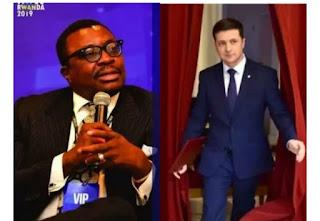 Nigerian Comedian Alibaba Reacts As Comedian Wins Presidential Election In Ukraine