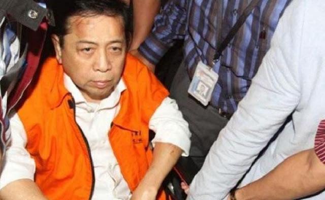 Curhat Menyedihkan Setya Novanto, Makanan di Penjara KPK Kurang Bergizi....