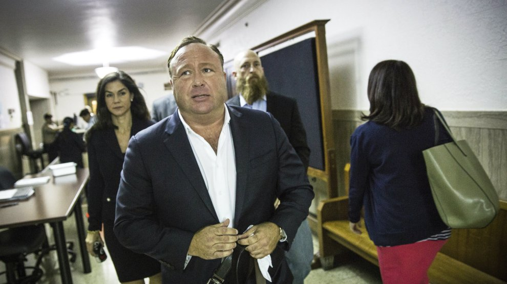 Alex Jones Accused Of Sexual Harassment