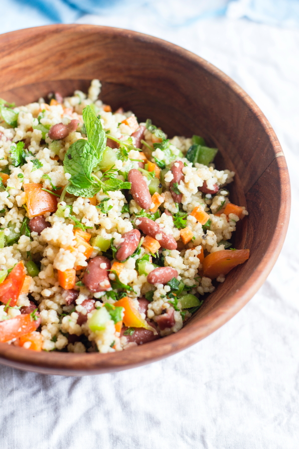foxtail millet navane sprouts carrot capsicum cucumber beans healthy proteins thinai tabouleh