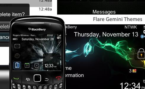 Tema Blackberry Gemini