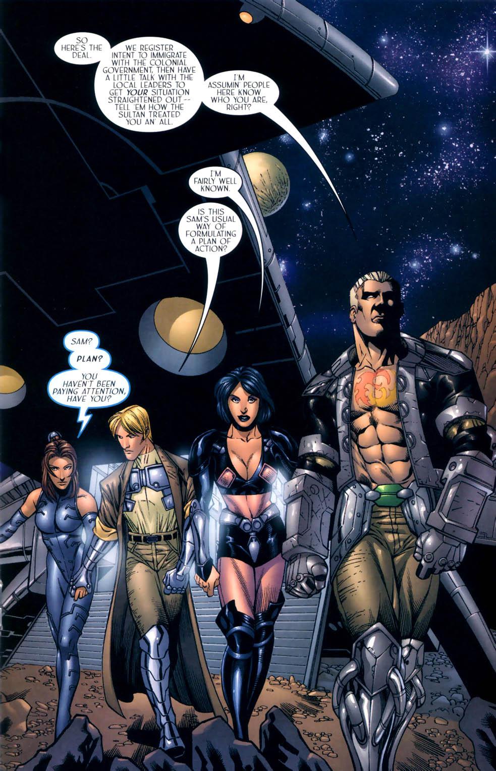 Read online Sigil (2000) comic -  Issue #8 - 15