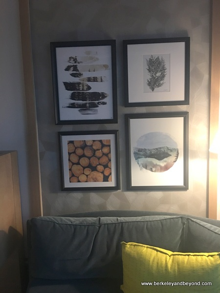 guest room decor at The Duniway Portland, a Hilton Hotel in Portland, Oregon