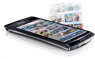 Sony's Qriocity video service on Xperia phones