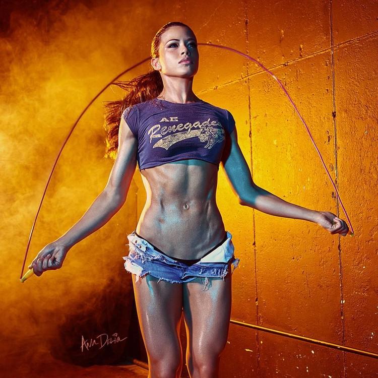 Ana Delia bikini fitness model