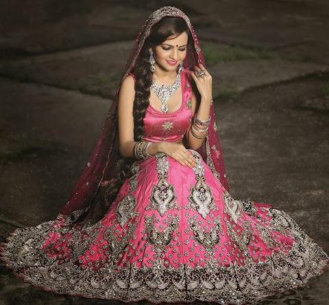 busana pengantin india muslim