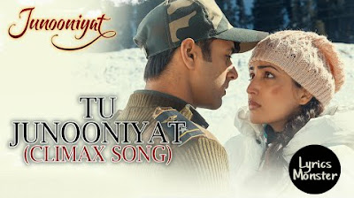 TU JUNOONIYAT SONG LYRICS VIDEO (CLIMAX SONG) – SHREY SINGHAL