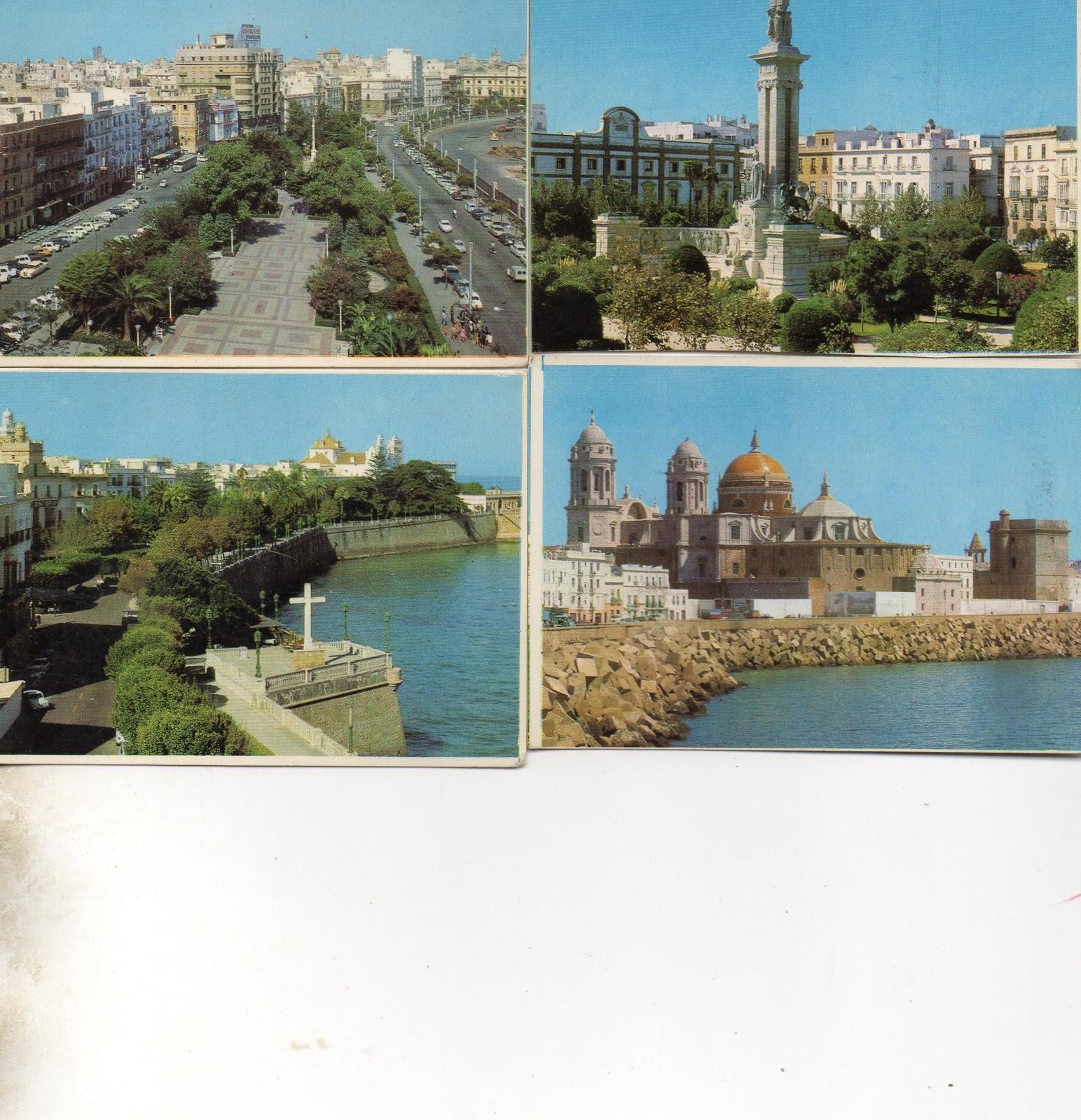 Colecciono Calendarios: IMÁGENES DE CÁDIZ (1971+1974