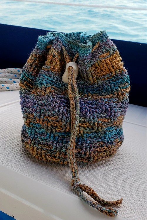 Sand Dollar Beach Bag - Free Pattern