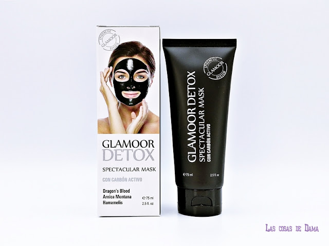 Glamoor Detox spectacular mask dragon's  Blood mascarilla beauty