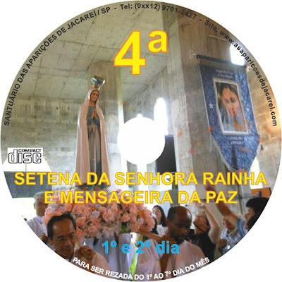 RIFA DA 4ª SETENA DA RAINHA E MENSAGEIRA DA PAZ clique na imagem