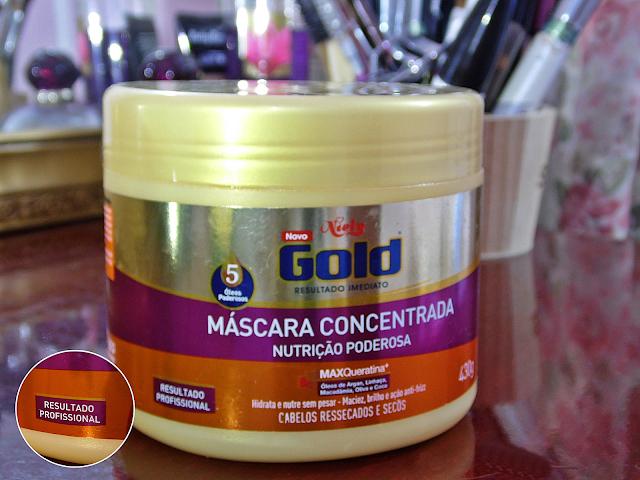 Máscara Concentrada (Nutrição Poderosa) - Niely Gold