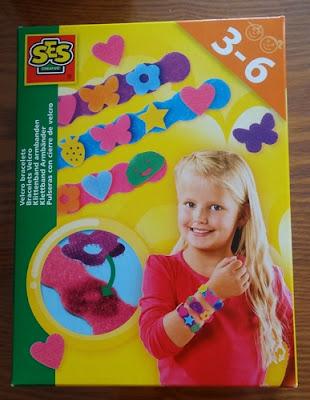 bracelets en velcro avec SES creative