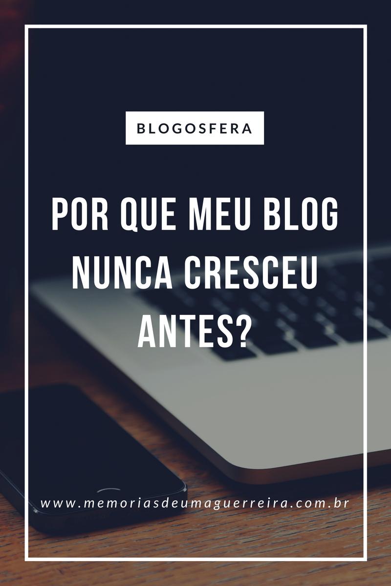 Por que meu blog não cresce?