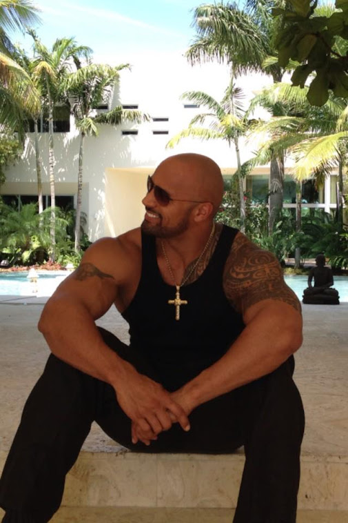 "My Hubby-Dwayne Johnson-AKA ""The Rock"""