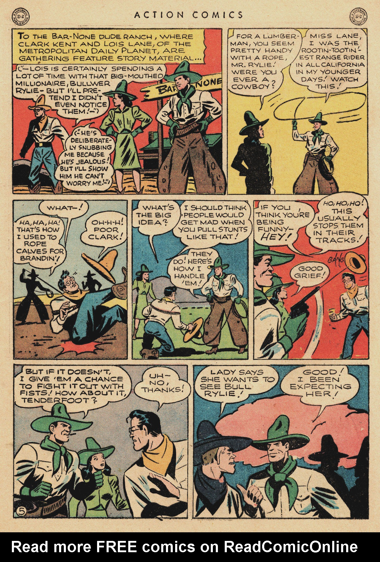 Read online Action Comics (1938) comic -  Issue #94 - 7