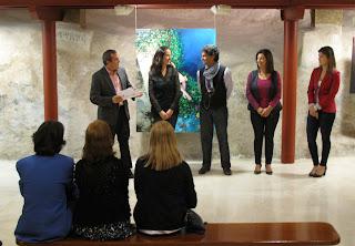 Fotos de la inauguración de la exposición de pintura Luces y Sombras en El Aljibe