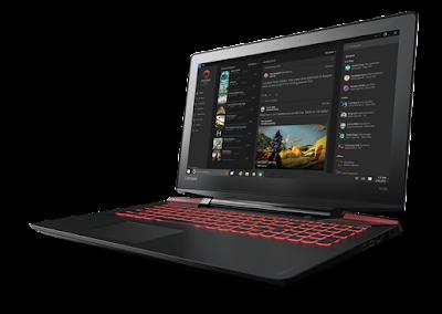 Daftar Laptop Lenovo Gaming terbaru 2016