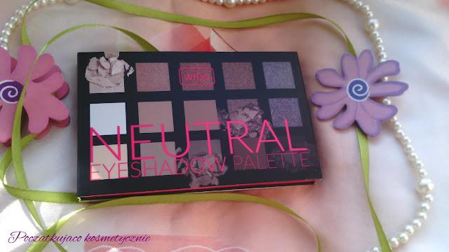 Wibo Neutral Eyeshadow palette- pierwsze wrażenie/swatche/