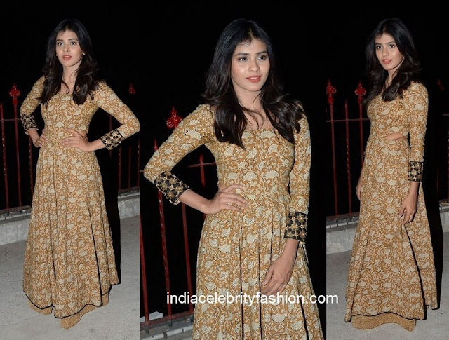 Hebah Patel in Long Print Kurta