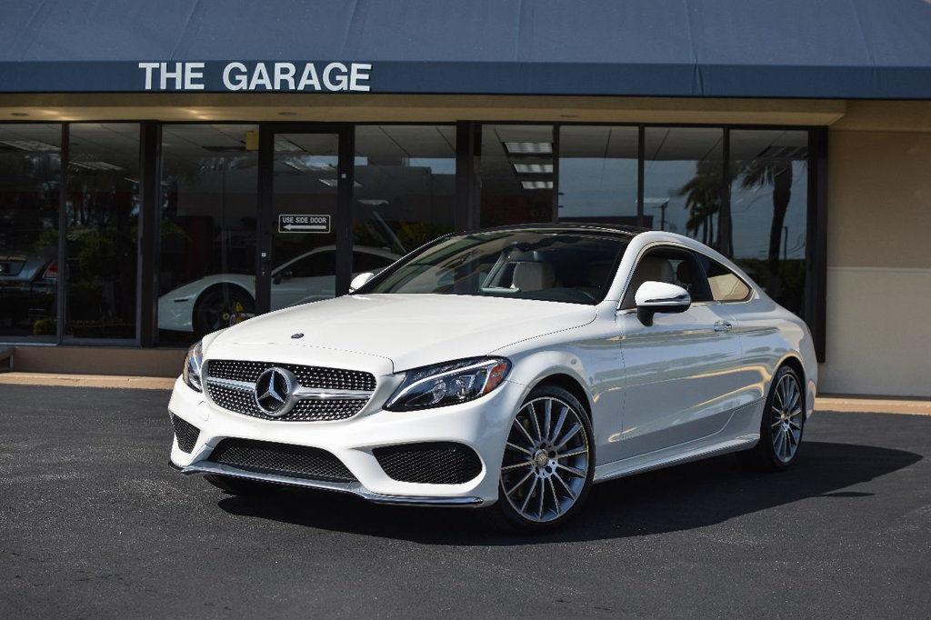 Mercedes C W Coupe C White