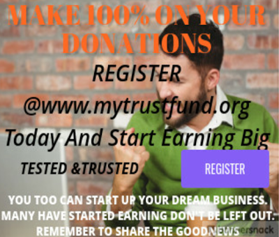 www.mytrustfund.org...We are live!!! Launching/Registration starts by 10am 9th of March 2017!!!