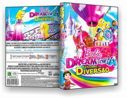 CAPA DVD – BARBIE DREAMTOPIA FESTIVAL DE DIVERS – ISO