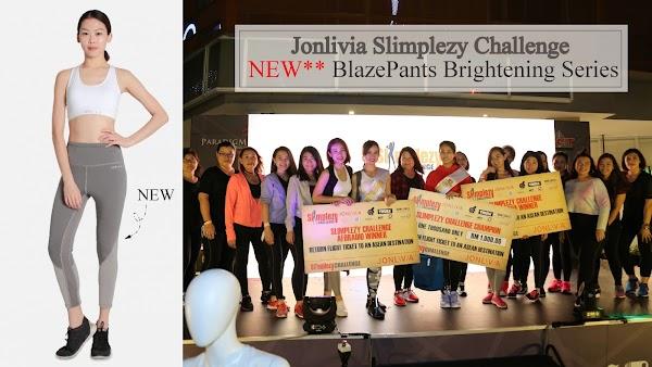 JONLIVIA Slimplezy Challenge + NEW BlazePants Brightening Series