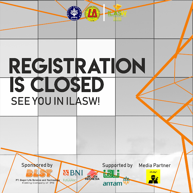 REGISTRATION OF ILASW IS CLOSED