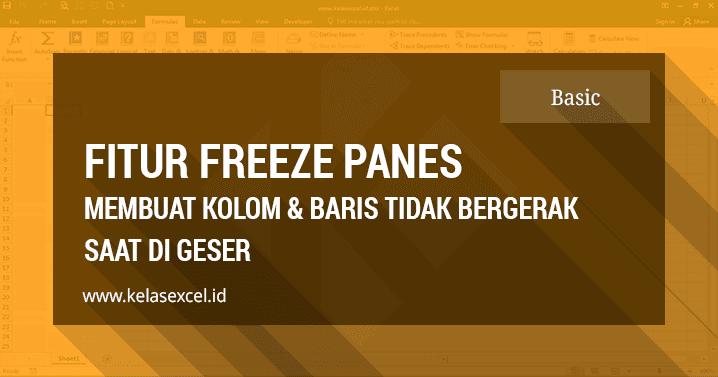 Temukan Cara Freeze Di Google Spreadsheet paling mudah