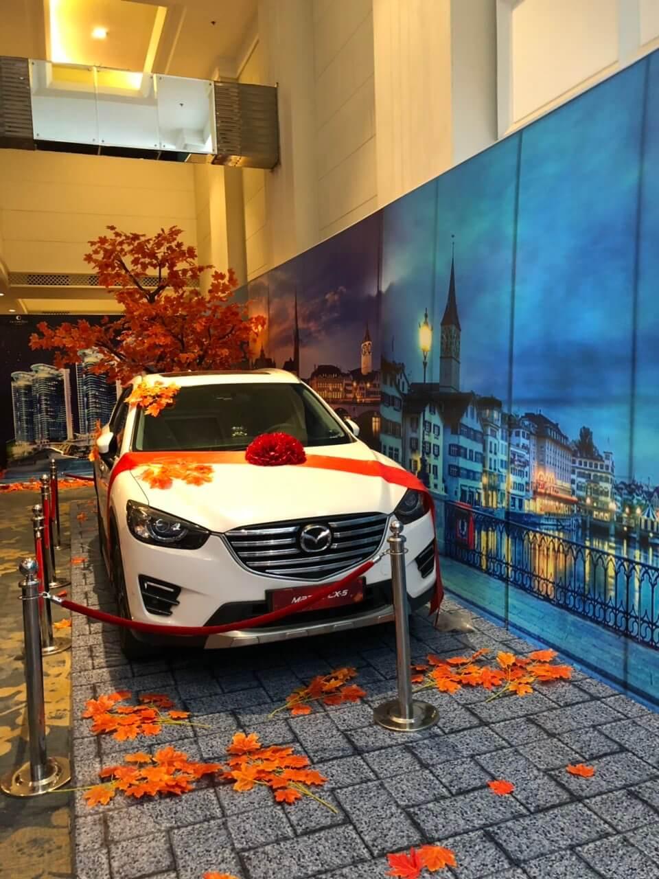 Xe Mazda CX5 dành cho khách hàng may mắn bốc thăm trúng giải đặc biệt