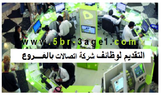 وظائف شركة اتصالات مصر لعدد من الفروع للمؤهلات العليا - التقديم على الانترنت